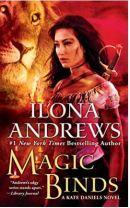 "Alt=""magic binds by ilona andrews"""